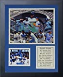 Legends Never Die Kansas City Royals Greats Framed Photo Collage, 11x14-Inch