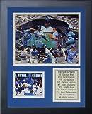 Legends Never Die MLB Kansas City Royals Greats Framed Photo Collage, 12'' x 15''