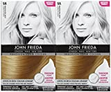 blonde hair dye foam - John Frieda Precision Foam Hair Colour, Light Ash Blonde 9A, 2 pk