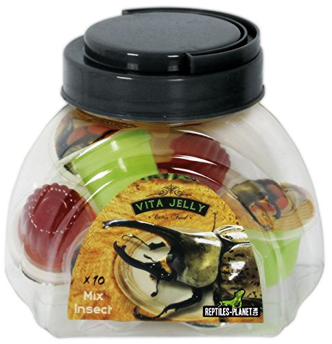 Reptiles Planet Vita Jelly Mix Insects Food, 10-Piece Reptiles-Planet REPU5
