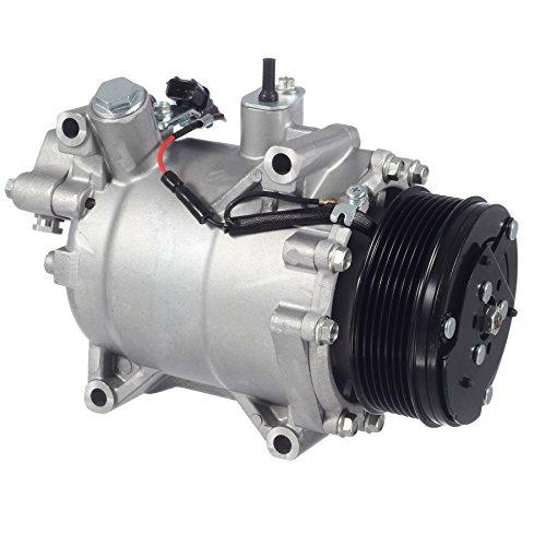 AUTEX AC Compressor and Clutch CO 4920AC 38810-RWC-A03 97580 6512639 Replacement for Acura ILX 2013 2014 2015/Honda Civic 2012 2013 2014/Acura RDX & Honda CR-V 2007 2008 2009 2010 2011 2012 ()