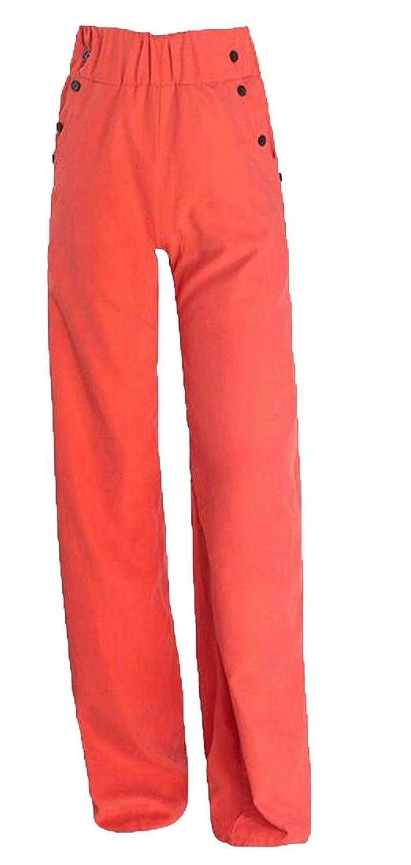 Zago Women's Causal Comfy Cotton Wide Leg Wild Wide Leg Pants