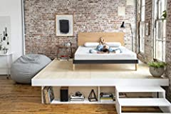 Nod by Tuft & Needle Mattress, Bed in a Box, Responsive Foam, Sleeps Cooler & More Support Than Memory Foam, More Responsive Than Latex, CertiPUR-US Certified, 10-Year Limited Warranty.