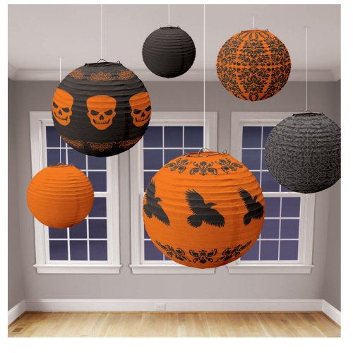 Halloween Lantern Value Pack Asst. (6 count) - hw