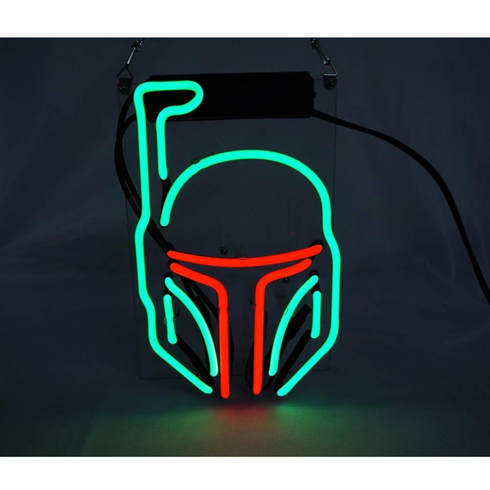 Máscaras de luz neón señales, cartel LED, cartel luminoso ...