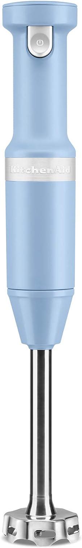 KitchenAid KHBBV53VB Cordless Hand Blender, 8 inch, Blue Velvet