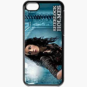 Lmf DIY phone casePersonalized iphone 6 4.7 inch Cell phone Case/Cover Skin Sherlock Holmes A Game of Shadows Noomi Rapace Movies BlackLmf DIY phone case
