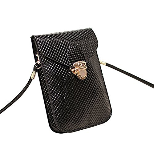 Ladies Black Bag Crossbody Girls Tote Women Cross Messenger Pouches Phone Shoulder Messenger Bag Handbag Over Skyeye Handbag Bags for Leather Bag Bag Body tqx6RXUBw