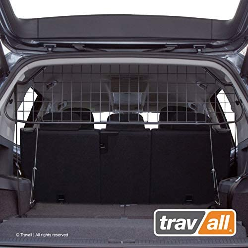 Travall Guard Compatible with Volkswagen Tiguan 2018-Current TDG1601 – Rattle-Free Steel Vehicle Specific Pet Barrier
