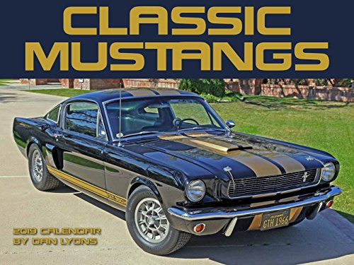 Mustang 2019 Classics Wall Calendar
