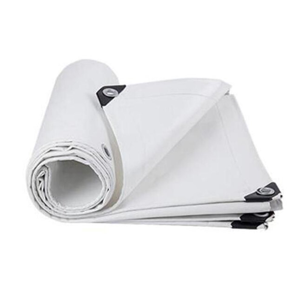 テントの防水シート 厚めの屋外雨布 防水日焼け止め用防水シート トラックオックスフォードキャンバス サンキャノピー リノリウム 絶縁 550g/㎡(厚さ0.45MM) それは広く使用されています (サイズ さいず : 5 x 8m) B07DMWCJ1P 5x 8m  5x 8m