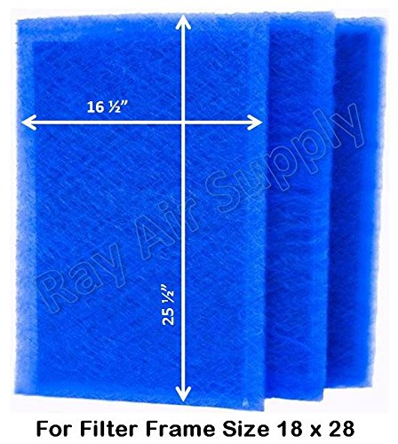 Dynamic Air Filters (3 Pack) (18x28)