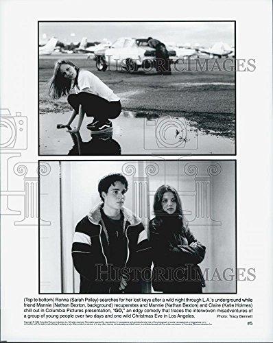 1999 Press Photo Sarah Polley Nathon Bexton and Katie Holmes in