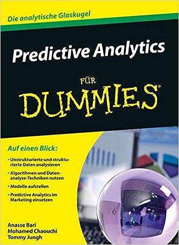Predictive Analytics Fur Dummies