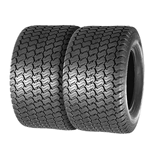 Set of 2 24×12-12 24×12.00-12 Turf Lawn Mower Golf Cart Tractor Tires 4Ply P332 Tubeless