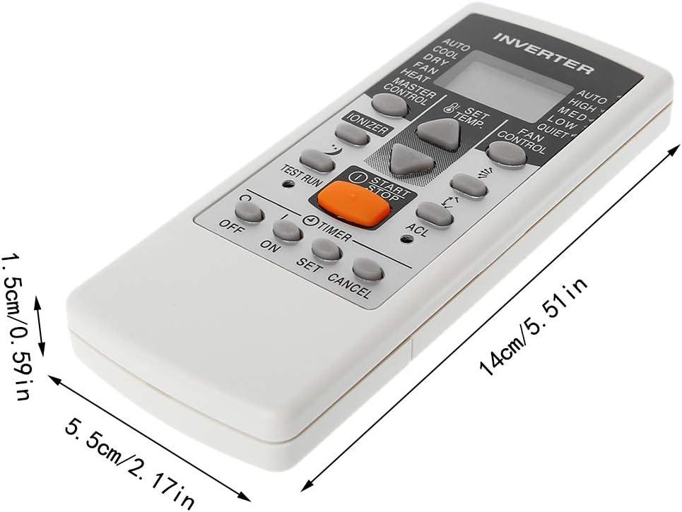huwaioury Telecomando Sostitutivo del Condizionatore dAria per Fujitsu AR-DJ5 AR-JE5 AR-JE4