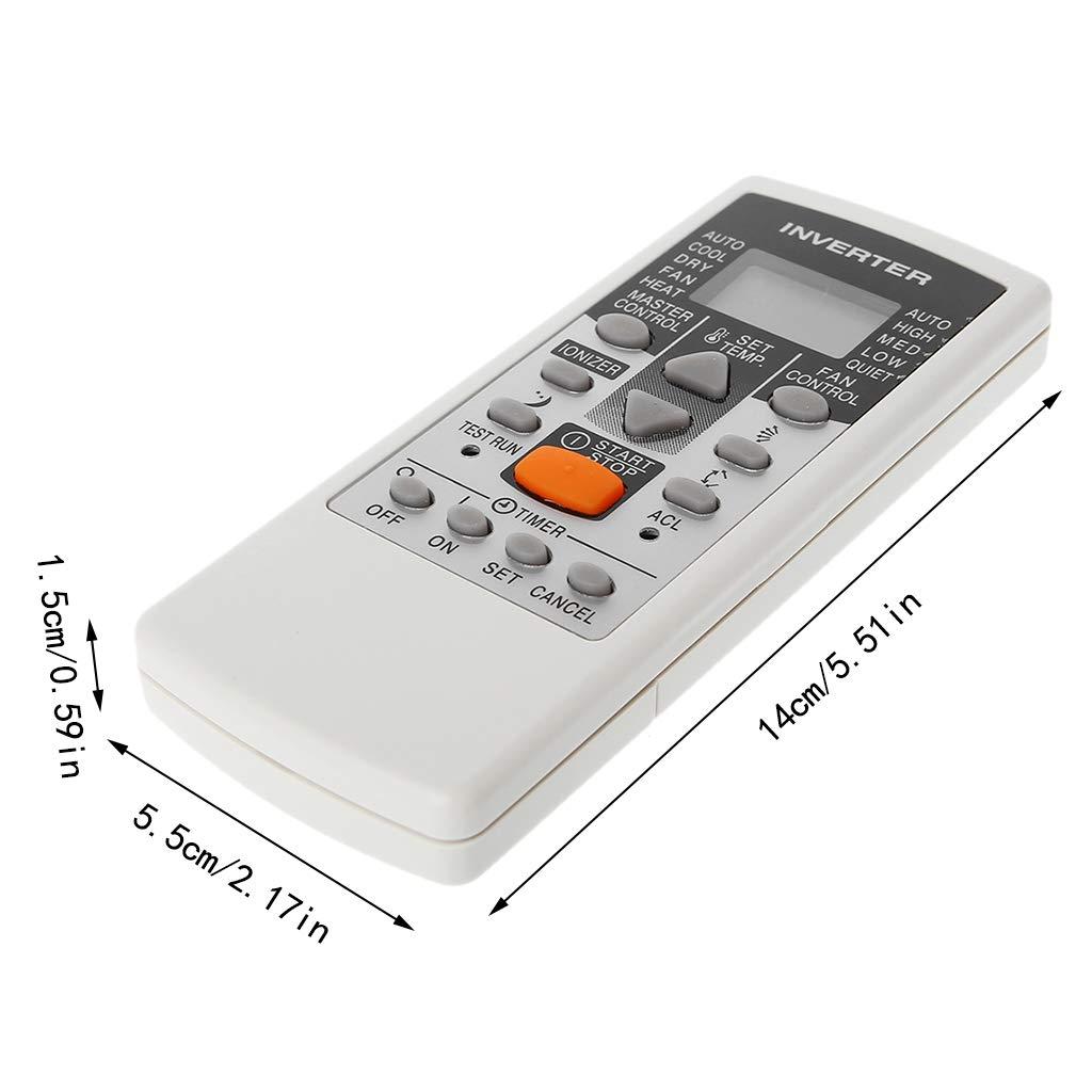 Runrain Mando a Distancia de Repuesto para Fujitsu AR-DJ5 AR-JE5 AR-JE4