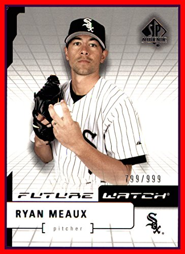 2004 SP Authentic #127 Ryan Meaux FUTURE WATCH RC CHICAGO WHITE SOX ROOKIE serial #799/999