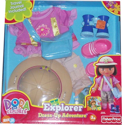 Dora the Explorer Dress Up Adventure Forest