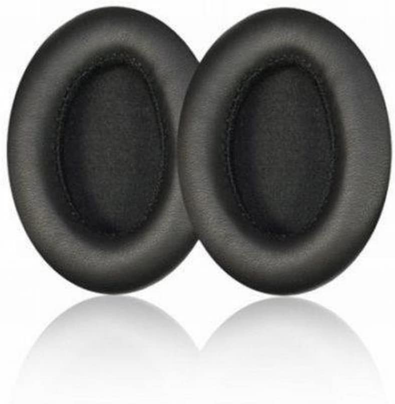 Nature Replacement Ear Pads Pad Cushion for JVC HA-NC100 HA-S500 Noise Cancelling Headphones / 100% Protein Leather, Durable and Soft