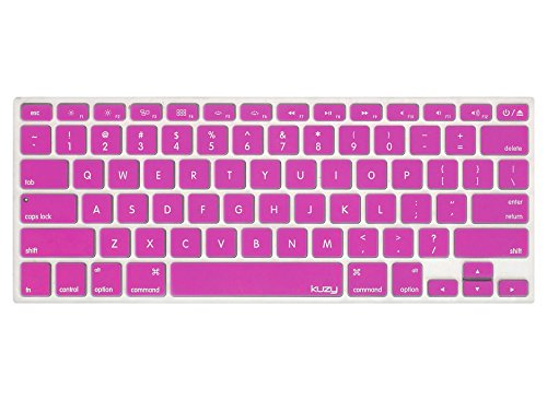 Kuzy - MAGENTA Keyboard Cover Silicone Skin for MacBook Pro