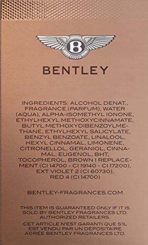 Bentley Intense Eau de Parfum, 3.4 Fluid Ounce | Health ...