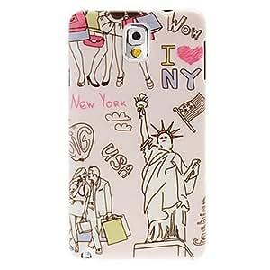 Teléfono Móvil Samsung - Cobertor Posterior - Diseño Especial - para Samsung Galaxy Note 3 Plástico )