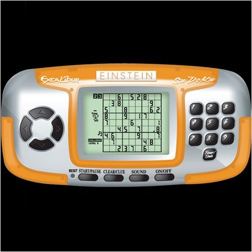Excalibur Einstein LCD Sudoku Wizard by Excalibur