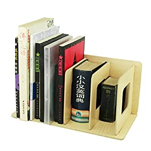 BXT estantería de almacenaje, para hacerla uno mismo, armario, Biblioteca, Oficina, Sala de Estudio–Mueble de almacenamiento, estantería archivadora, tabla de madera, organizador de escritorio, para libros, papeles A4,Documentos, revistas, CD, color Blanc Bois