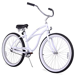 "Firmstrong Urban Lady Women's 26"" Single Speed Beach Cruiser Bike"