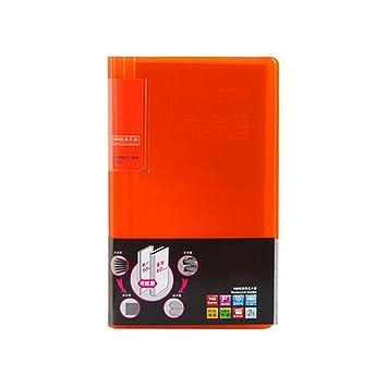 Liu Yu Bürofläche Bürobedarf Orange Visitenkarte