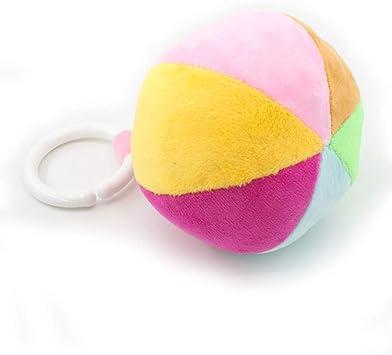 Pelotas sonajero con clip de alta calidad, juguete para bebé, bola ...