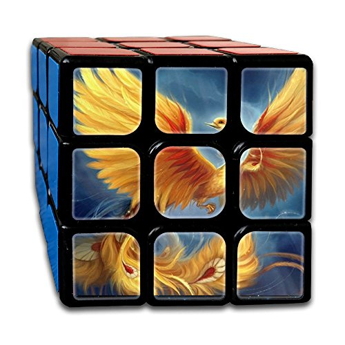 3D Cool Phoenix 3x3 Smooth Speed Magic Rubiks Cube Puzzle Cube Puzzles Toys - Dolphin Speed Boat