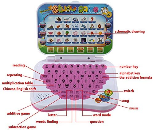show original title Details about  /Engish and spanish learning computer children/'s educational toys for kids