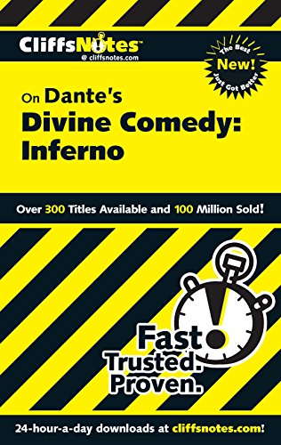 CliffsNotes on Dante's Divine Comedy: Inferno (Cliffsnotes Literature Guides)