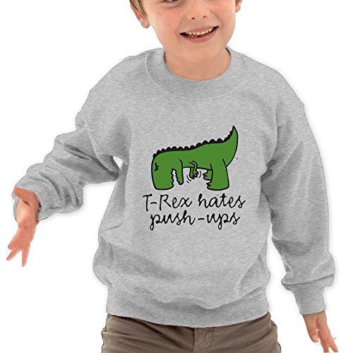 Seven Seas Floor Mirror (Honxjsnz T-Rex Hates Push-UPS Toddler Girls&Boys Lovely Warm Round Neck Sweatshirt 2 Toddler Ash)