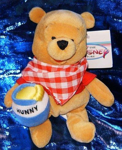Pooh Plush Beanie (Disney's Winnie the Pooh Picnic 6
