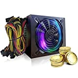 For ETH BTC Ethereum - 2018 New 2000W ATX Gold Mining Power Supply SATA IDE 8 GPU