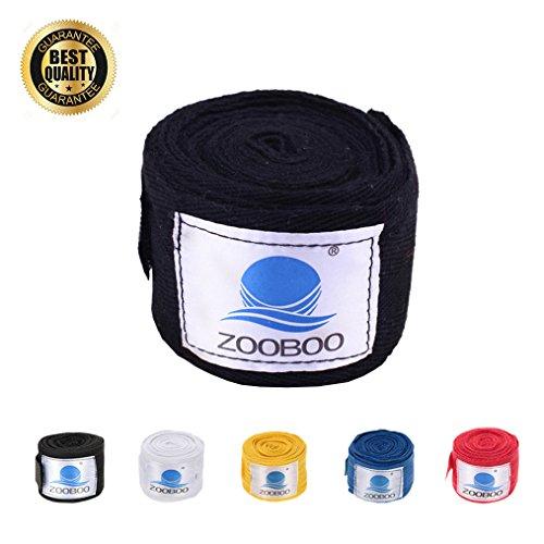 Boxing Hand Wraps, ZOOBOO Premium 108