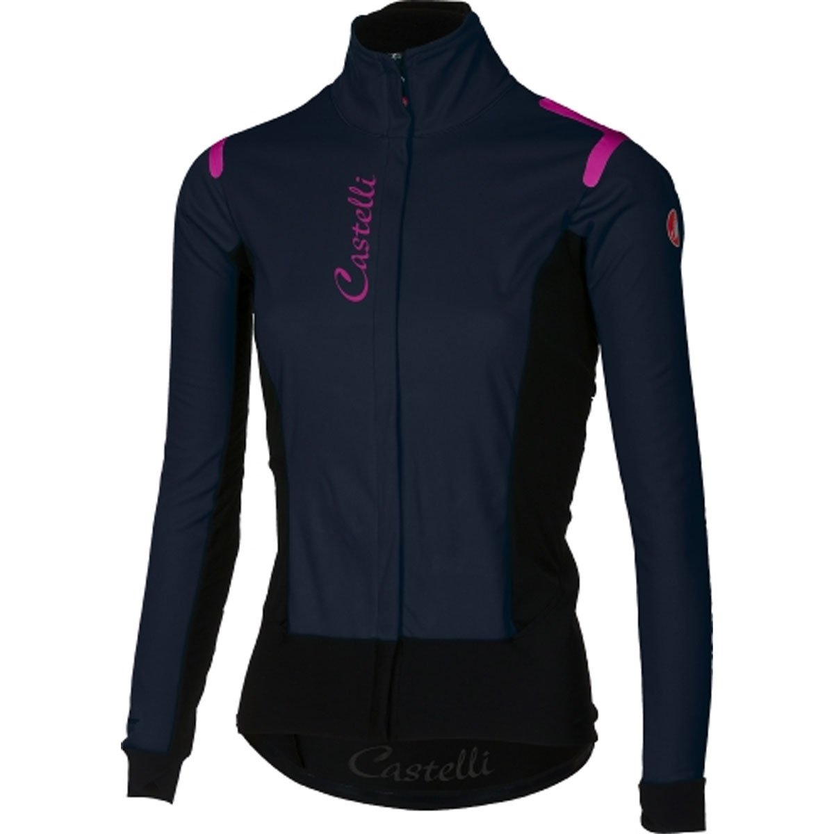 CastelliアルファRos Jacket – Women 's B076ZRJ4P7 X-Small|Dress Blue/Black Dress Blue/Black X-Small