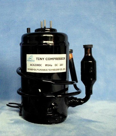 Gowe 12V DC Tiny Compressor for air conditioner, Micro Water