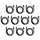 10 Pack Fenzer 10ft USB Printer Cable for HP PhotoSmart TouchSmart Web All-in-One