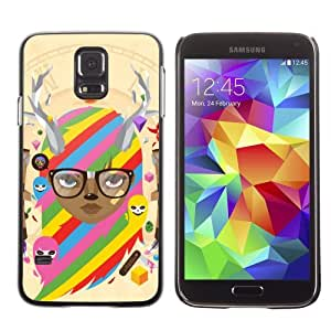 Designer Depo Hard Protection Case for Samsung Galaxy S5 / Cool & Cute Fantasy