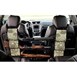 LOVIT Car Concealed Seat Back Gun Rack,Hunting Gear Seat Back Gun Sling Holder Universal Shooting Accessories, Fit for Vehicles (Snake Camo)