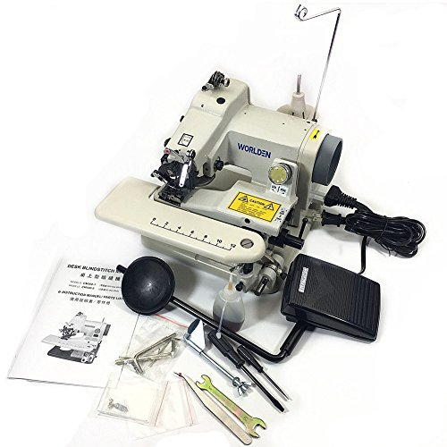 WD-500 Portable Blind Stitch Hemming Machines Alterations Hem Pants - Dressmaker Sewing Machine Desk Blindstitch Hemmer (Sewing Hemmer Machine)