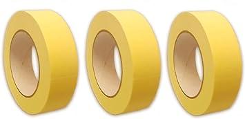 30mm 50mm  x 50m Malerkrepp Abdeckband Kreppband Abklebeband Klebeband 19mm
