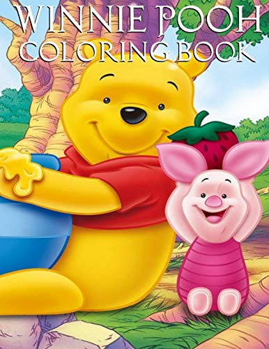 (Winnie Pooh Coloring book: Amazing coloring book for kids and teens)