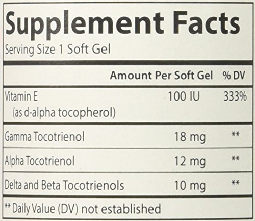 Carlson Labs Tocotrienols Softgels, 180 Count by Carlson (Image #1)