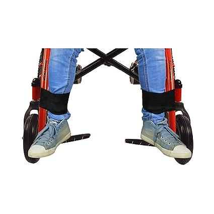Cinturón de seguridad para silla de ruedas, cinturón de seguridad médico para el transporte de