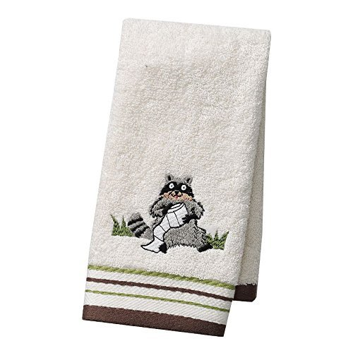''Gotta Go'' Bathroom Shower Collection - Set of 2 Fingertip Towels
